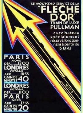 Flèche d'Or poster
