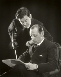 by Paul Tanqueray, vintage bromide print, 1934