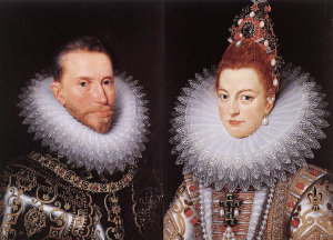 ILLUS 22 Archduke Albert VII of Austria and his wife the Infanta Isabella of Spain, sovereigns of the%