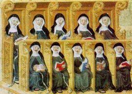 ILLUS 24 Chanting nuns