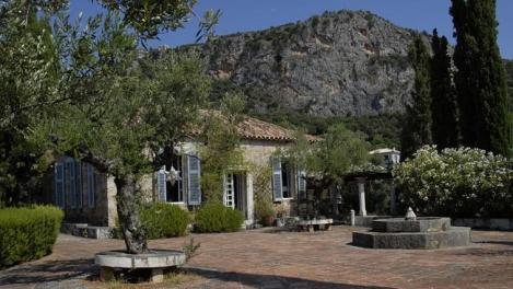 38 The Leigh Fermors' house at Kalamitsi (Photo The Benaki Museum)
