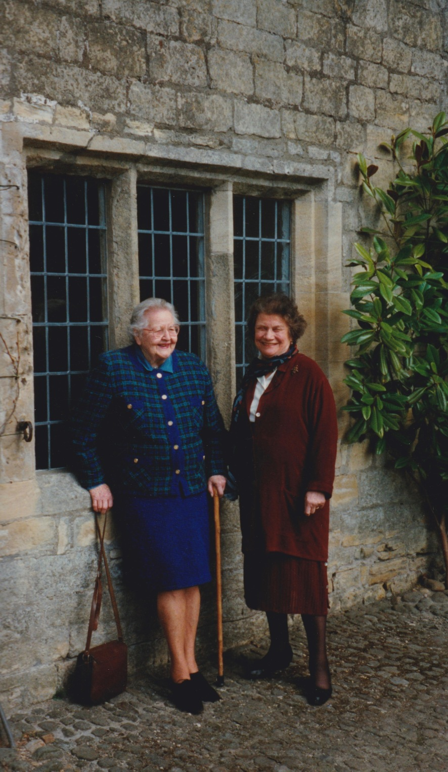 Coote and Freda at Sledmere, 1993.jpg