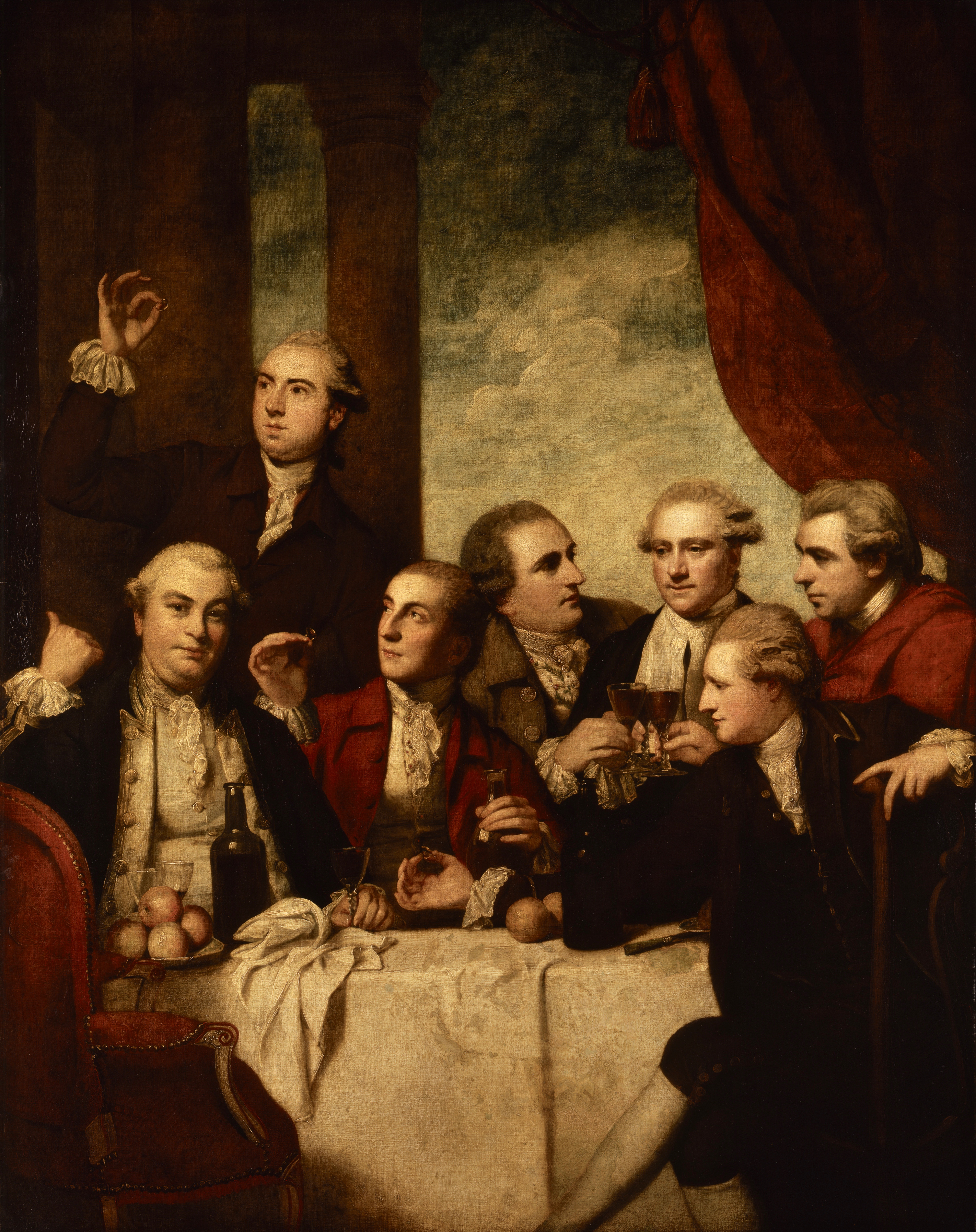 2 The Dilettanti Gem Group (Joshua Reynolds, 1777–79).