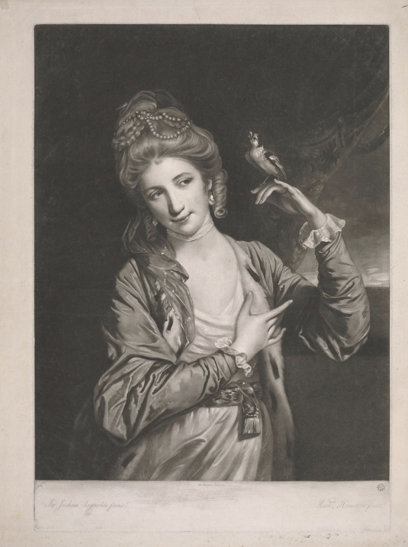 6 The courtesan Harriet Powell (later Countess of Seaforth) as Leonora in the Padlock.